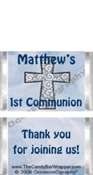 Mini Religious Boy Candy Wrappers Sample