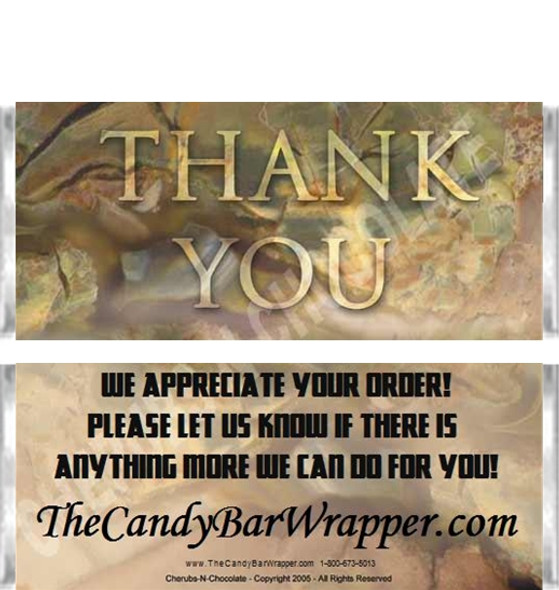 Thank You Candy Wrappers Sample