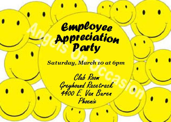 Party Invitation Sample