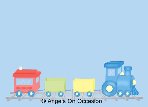 Train Party Invitations