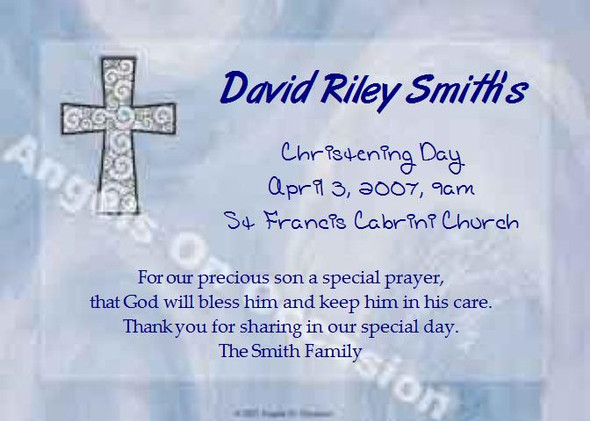 First Holy Communion Invitations Sample