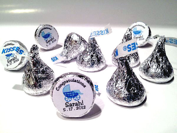 Baby Shower Personalized Hershey's Kisses