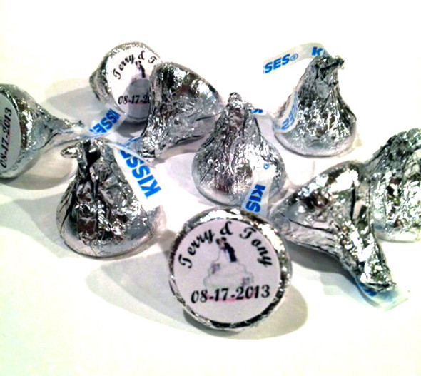 Wedding Personalized Hershey's Kisses