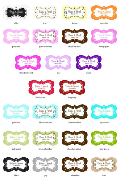 Choose a Label Color