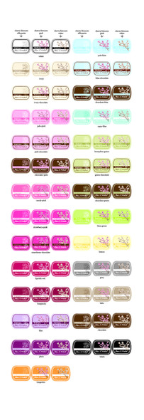 Cherry Blossom Personalized Mint Tins