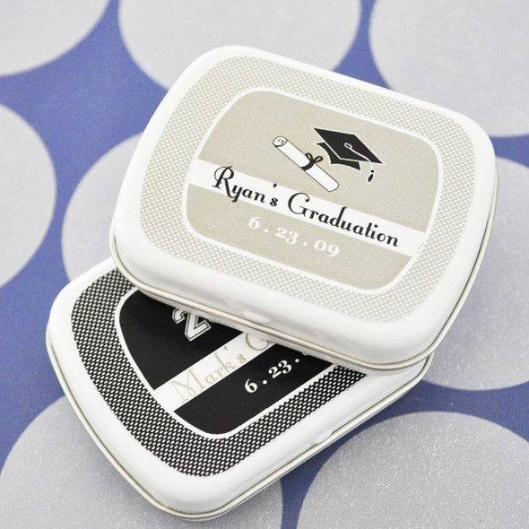 Graduation Personalized Mint Tins