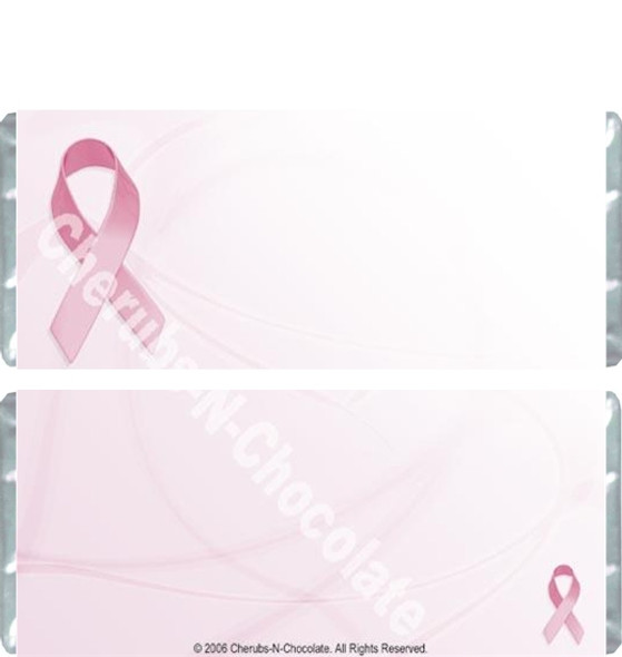 Pink Ribbon Candy Wrappers