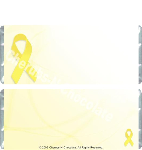 Yellow Ribbon Candy Wrappers
