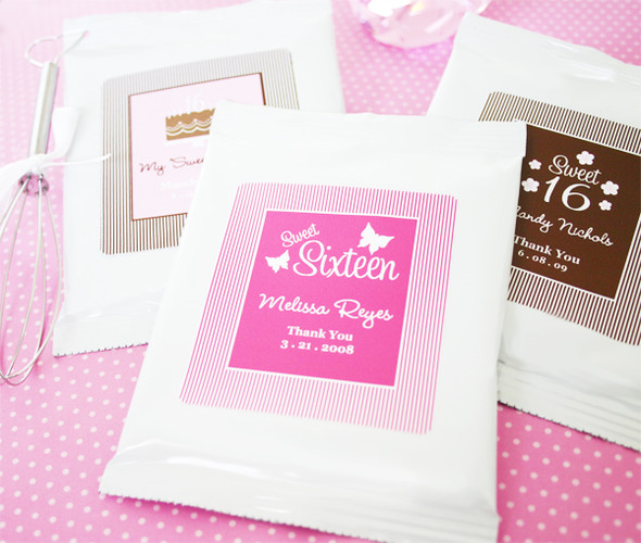 Sweet 16 or 15 Hot Cocoa Favors