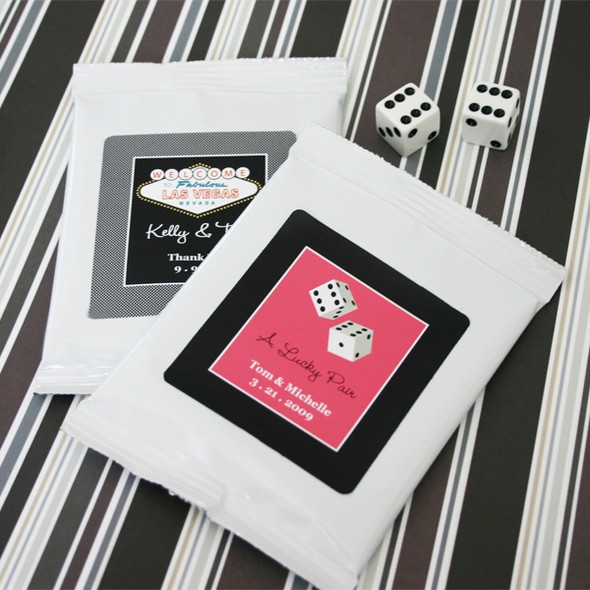 Vegas Themed Hot Cocoa Favors