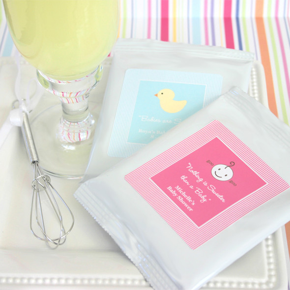 Nothing is Sweet Than Baby Lemonade Mix Favors