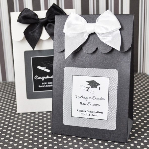 Graduation Sweet Shoppe Candy Boxes