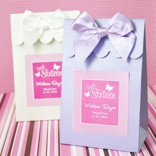 Sweet Sixteen Candy Boxes