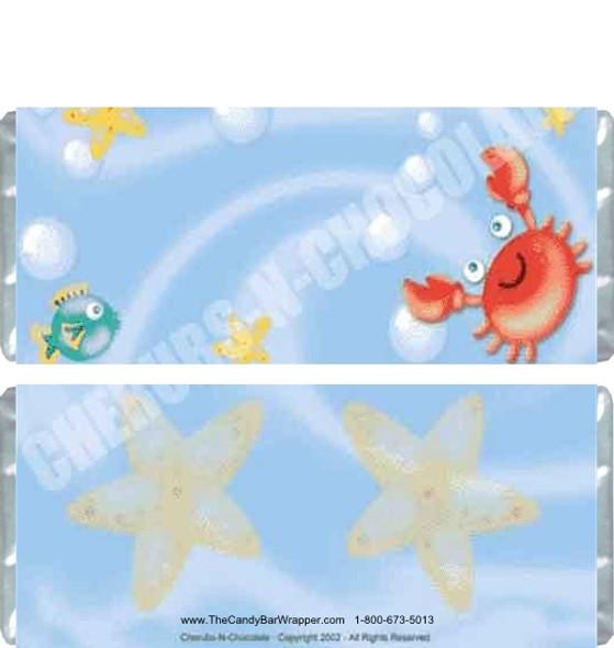 Sea Life Candy Bars