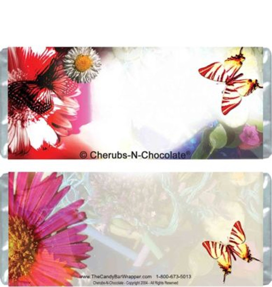 Flowers Candy Bars
