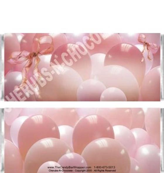 Balloons Candy Bars