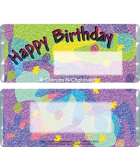 Birthday 2 Candy Bars