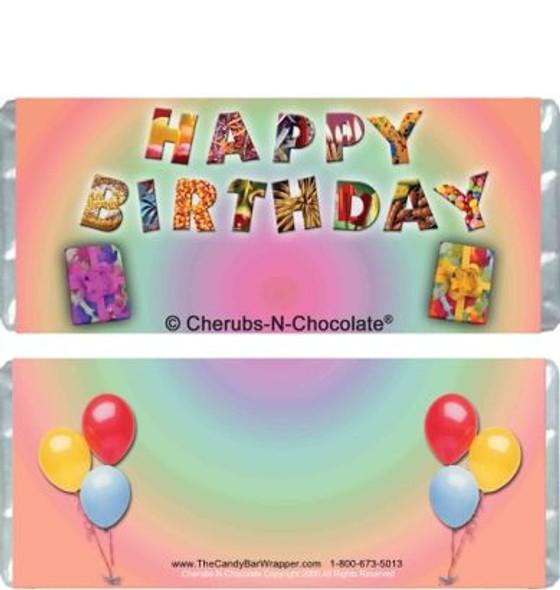 Birthday Joy Candy Bars
