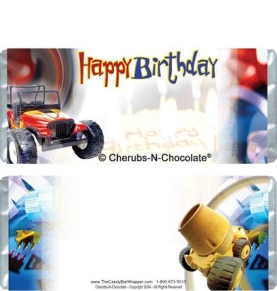 Birthday Boy Candy Bars