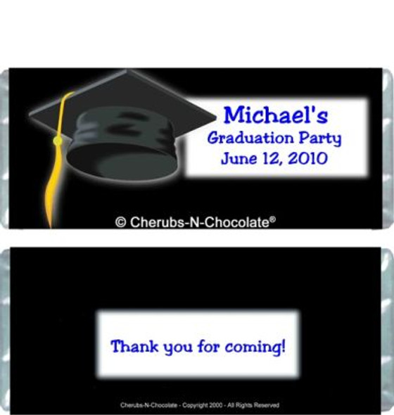 Graduation 1 Personalized Candy Bars