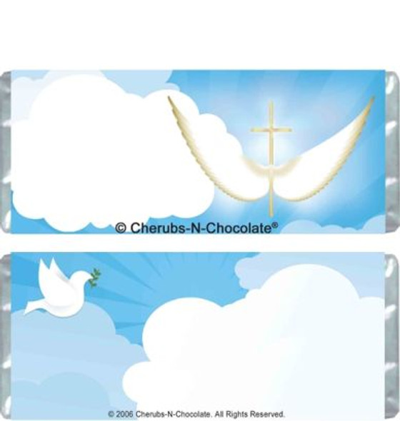 First Communion Candy Bars