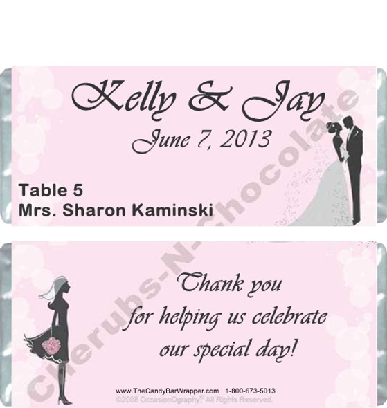 Save the Date Personalized Candy Bars