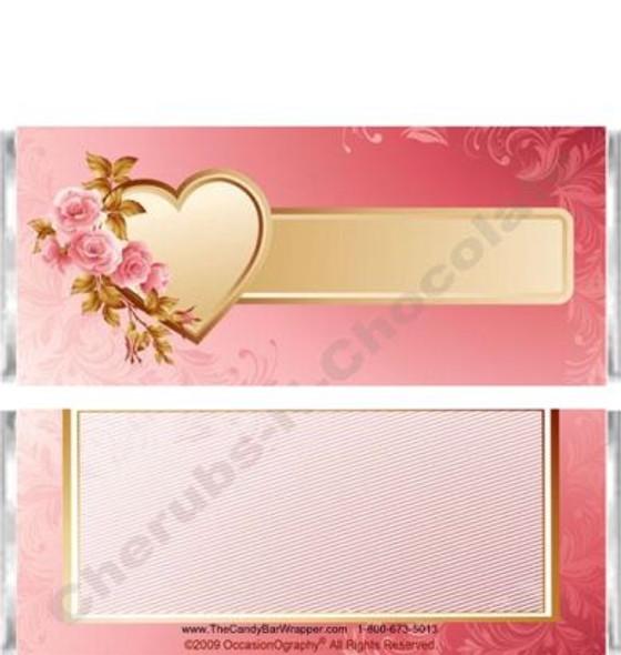Golden Heart Candy Bars