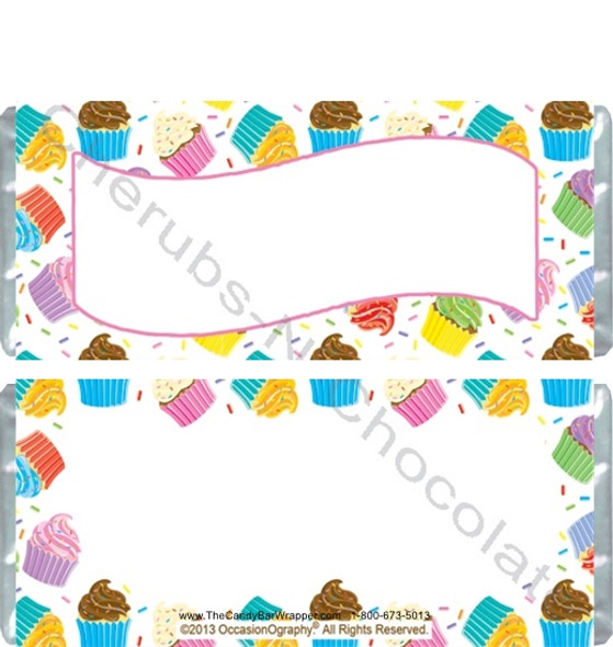 Cupcake Birthday Candy Wrappers