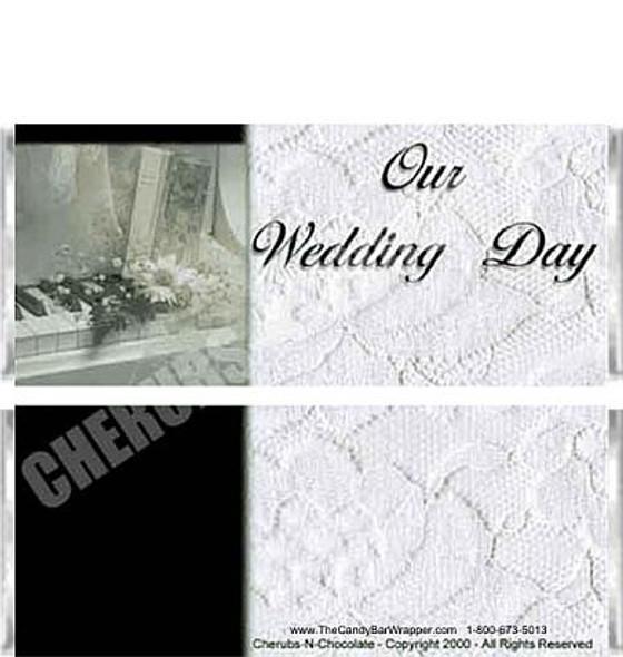 White Wedding Candy Bars