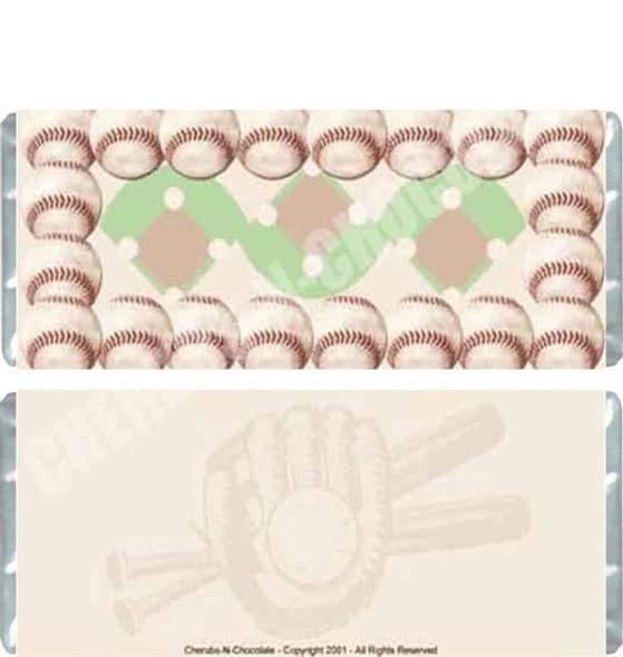 Baseball Candy Bars