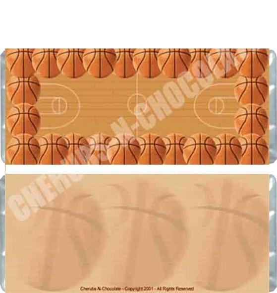 Basketball Candy Bars