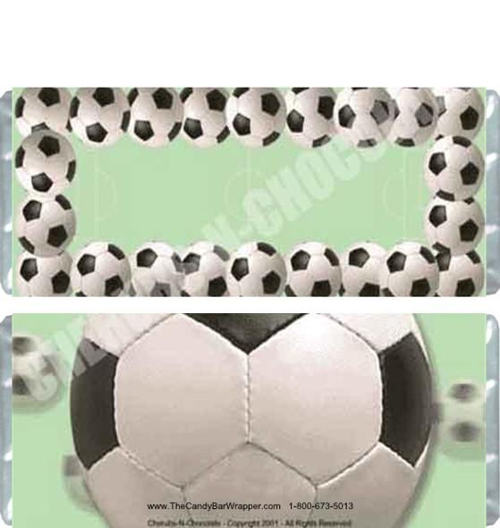 Soccer Candy Bars
