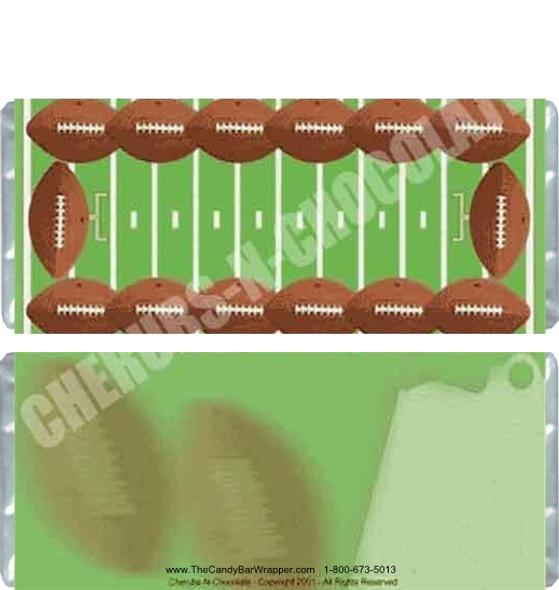 Football Candy Bars