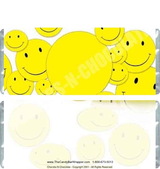 Smiley Candy Bars
