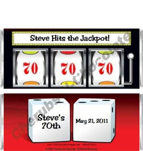 Slot Machine Candy Bars Sample