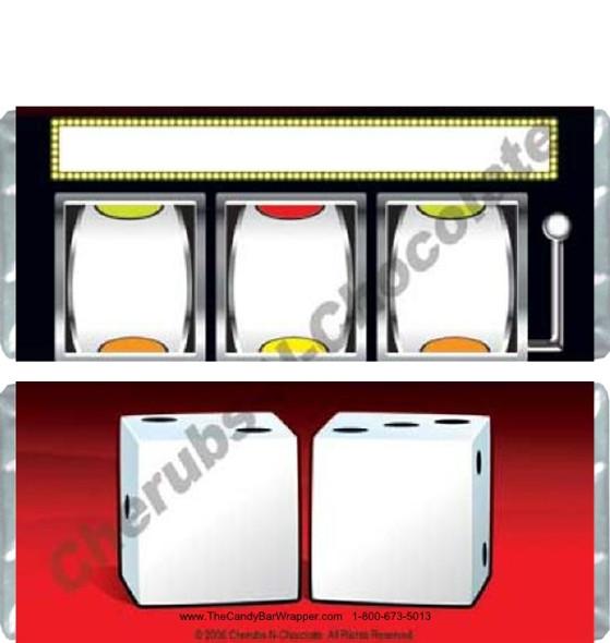 Slot Machine Candy Bars