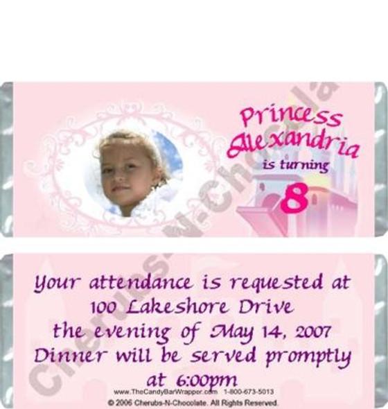Princess Candy Bars Sample