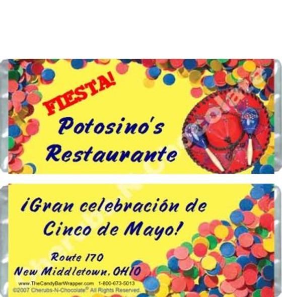 Fiesta Candy Bars Sample