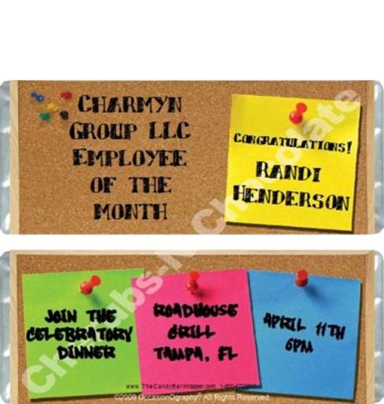 Bulletin Board Candy Bars Sample