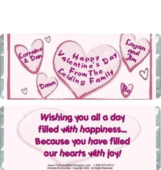 Heartfelt 1 Candy Bars Sample