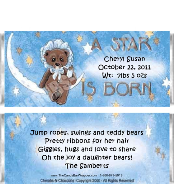 A Star is Born Candy Bars Sample