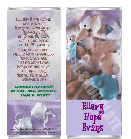 Baby Dreams Candy Bars Sample