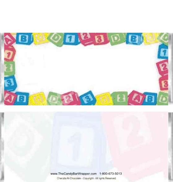 Baby Blocks Candy Bars