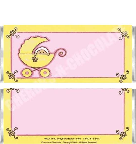 Girl Stroller Candy Bars
