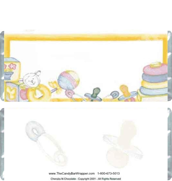 Baby Toys Candy Bars
