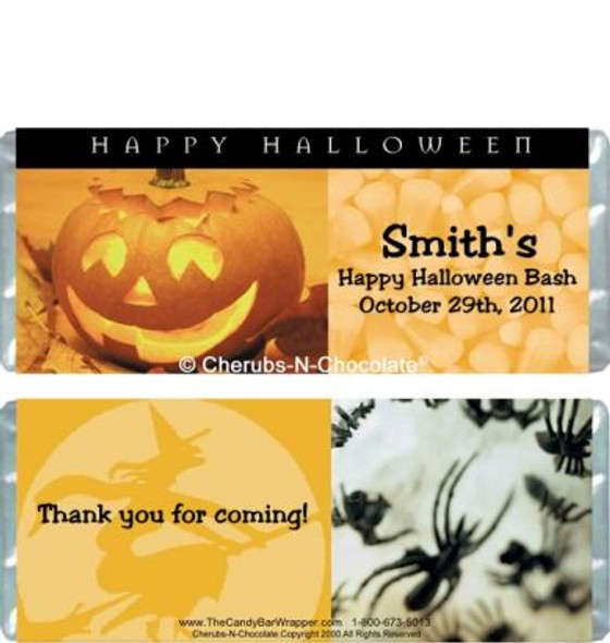 Halloween Candy Bars Sample