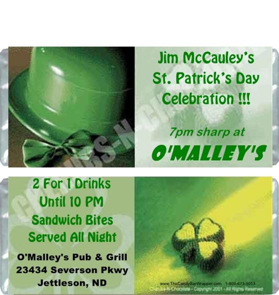 Irish Candy Bars Sample