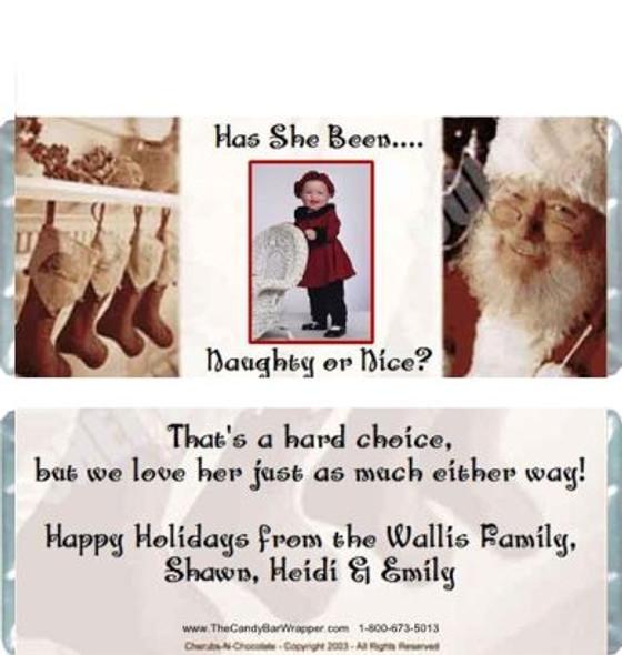 Santa's Stockings Candy Bars Sample