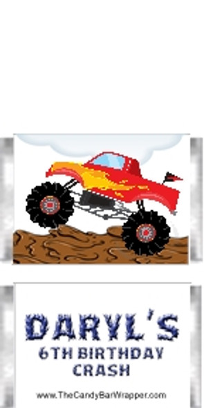 Monster Truck Mini Candy Wrappers