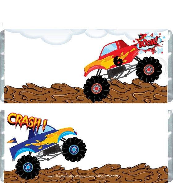 Monster Truck 2 Candy Wrappers